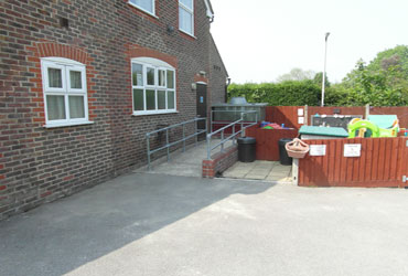 Rear Car Park Upstairs Room Entrance