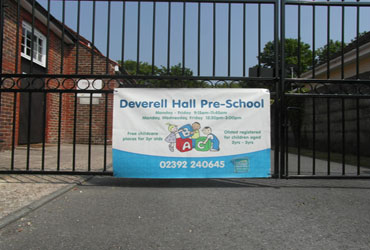 Deverell Hall Preschool Gates