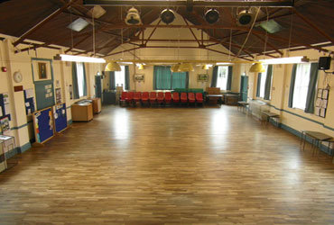 Main Hall from stage