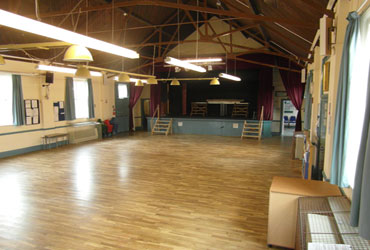 Main Hall looking towards stage